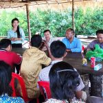 CBO's awareness raising on fishery law enforcement in Chroy Svay commune center