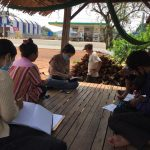 CBO's leaders meeting on NTFP processing of Kampong Seila's Community Forestry
