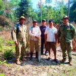 CBO's leaders, Technical officials and local authority take action for patroling in protected area of Andaung Toeuk commune