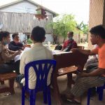 CBO's leaders meeting on reviewing internal rule regulation of Kampong Seila's Community Forestry