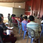 CRF leaders meeting on reviewing internal rule regulation of Kampong Seila commune