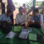 CRF leaders meeting/coaching on applicaiton of finanical form sheets of Andaung Toeuk commune